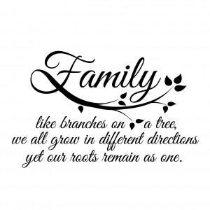 Family Roots Quote