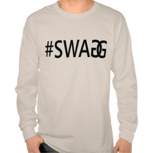 SWAG / SWAGG Funny Trendy Quotes, Cool Men's Tee