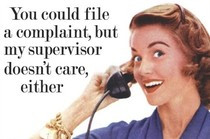 Funny Picture - Call-centre Complaint?