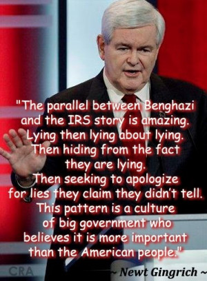 Newt Gingrich quote