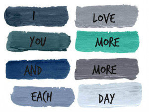 love you more and more each day