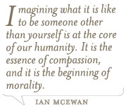 Quotes Ian Mcewan ~ Culture Street | Quote of the Day from Ian McEwan