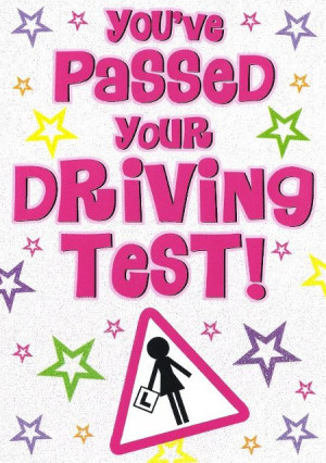 Driving Test Cards