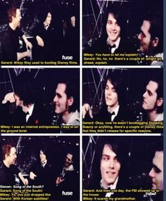 Funny My Chemical Romance moment More