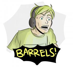 Pewdiepie Anime Barrels
