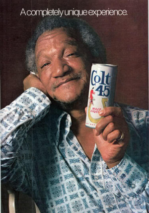 Redd Foxx, Black Hawks, and the Ol' Red, White and Blue