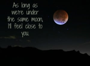 love moon quotes and sayings