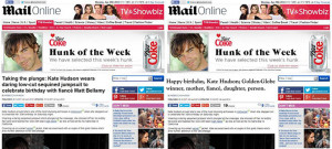 Tabloid headlines without the sexism