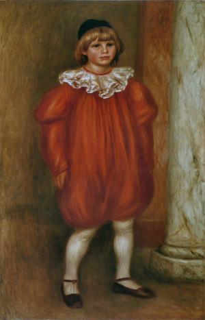 Fichier:Pierre-Auguste Renoir - Le Clown (Claude Renoir).jpg