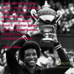 Arthur Ashe on Aids and Racism