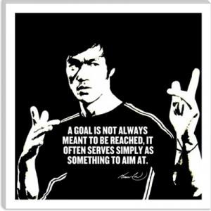 Bruce Lee Quote Canvas Art Print