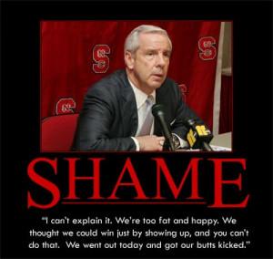 Roy Williams NCSU Shame