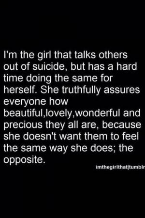 girl quote text depressed depression sad suicidal suicide quotes help