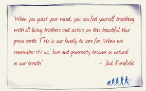 Jack Kornfield quote 1.2