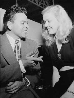 Doris Day and Les Brown, Aquarium, New York, N.Y., ca. July 1946 ...