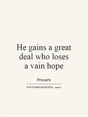 Vain Quotes