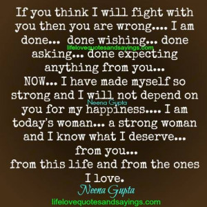 AM Strong Quotes for Women