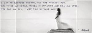 Rumi Quotes Facebook Covers Rumi quote, facebook timeline