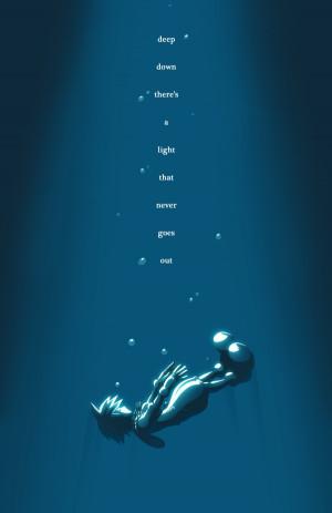 ... Rasenth, Kingdom Hearts, Sora (Kingdom Hearts), Falling, Drown, Deep