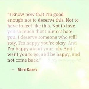 Grey's Anatomy quote Alex Karev