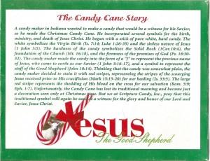 THE STORY BEHIND THE CANDY CANE Image
