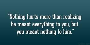 Loving Him Hurts Quotes Sad love quotes for him.