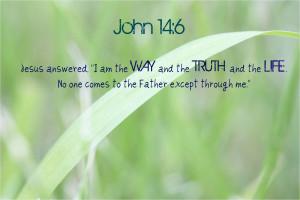 John 14.6 2 Bible Verse