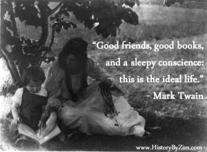 In Their Words: Mark Twain