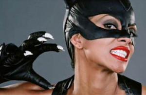 Award winner Halle Berry trying to explain why movies likes Catwoman ...