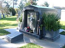 DiMaggio's private mausoleum