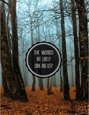 dark and deep Robert Frost motivational inspirational love life quotes ...