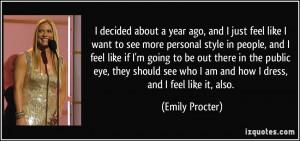 Emily Procter Quotes