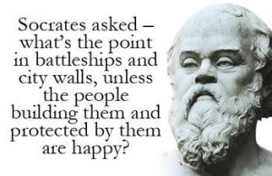 ... post your favorite quotes attributed to Socrates by Plato and Xenophon