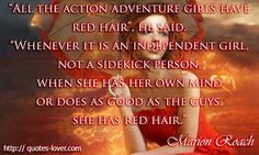 ... Red Hair View more #quotes @ http://quotes-lover.com/ If you like it