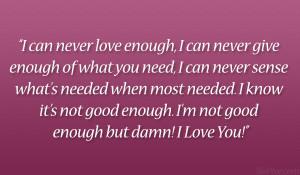 im a good boyfriend quotes