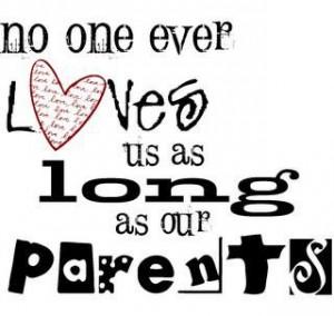Quotes about parents love wisdom of life parents love is endless