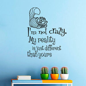 Wall-Decals-Alice-in-Wonderland-Quote-Decal-Cheshire-Cat-Bedroom-Home ...