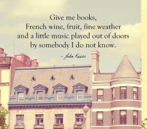 Inspirational Quotes, Life, John Keats, Washington DC Photography