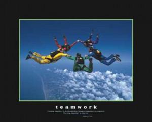 teamwork posters and art prints title teamwork type fine art