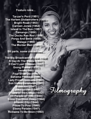 Dorothy Dandridge Images