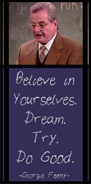 Mr. Feeny Quotes Just because mr feeny from
