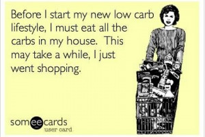 Low carb lifestyle...