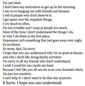 depression # tired # life # stress # hard # sad # upset # emotions ...