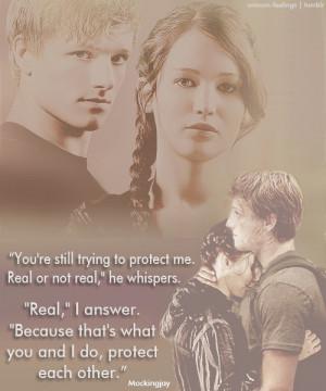 Katniss Everdeen Star Crossed Lovers