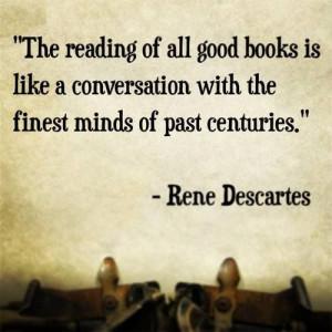 Book quotes Rene Descartes