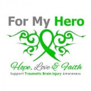 Go Green to Support Traumatic Brain Injury (TBI) Awareness