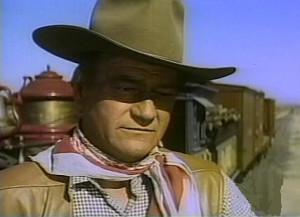 Description: John Wayne as George Washington McLintock, in the rowdy ...
