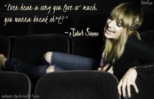 Juliet Simms Quote by nadinepazkye