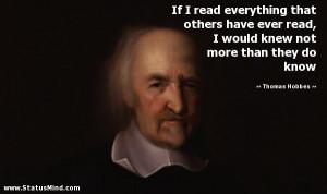... Philosophers- Thomas Hobbes, Jeremy Bentham and William of Ockham