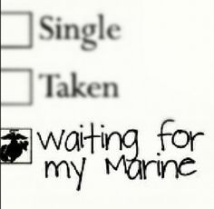 waiting for my #Marine #shoutout 2 #militaryso #Marinegf #Marinewife ...